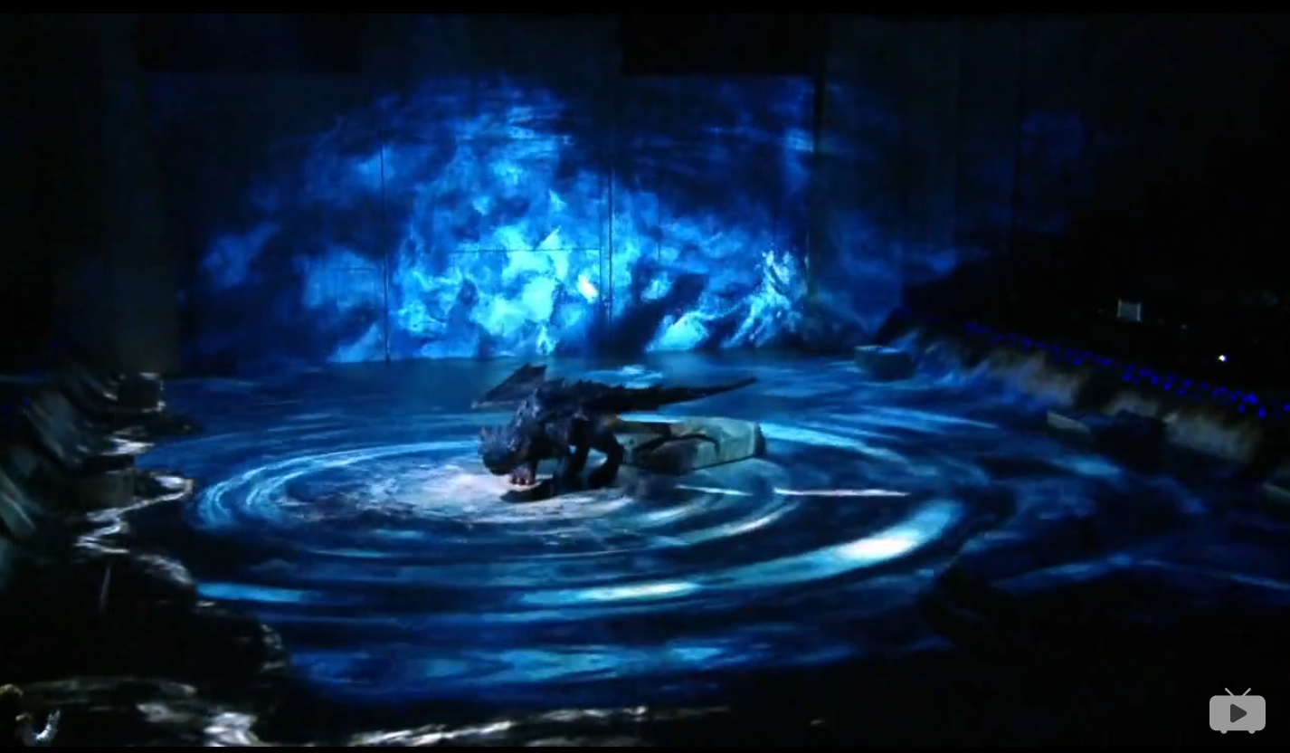 电脑三维动画视觉特效现场投影《驯龙高手》